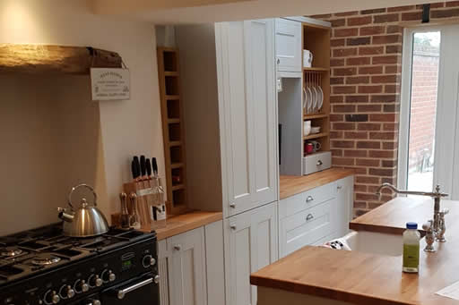 Bespoke country kitchen in Woodbridge, Suffolk